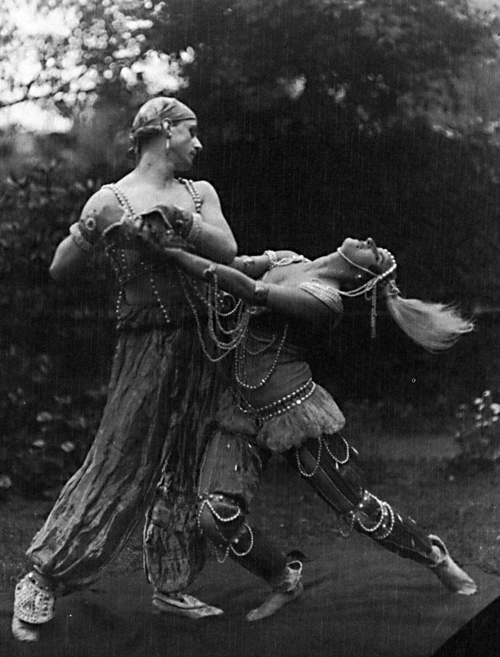 """Михаил и Вера Фокины в балете """"Шахерезада"""", 1914 г. Фото: Wikimedia Commons"""