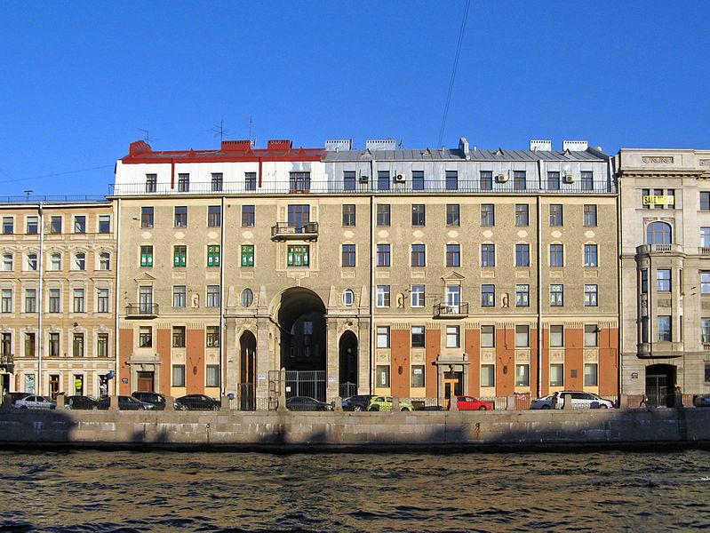 Толстовский дом. Автор: Екатерина Борисова, Wikimedia Commons