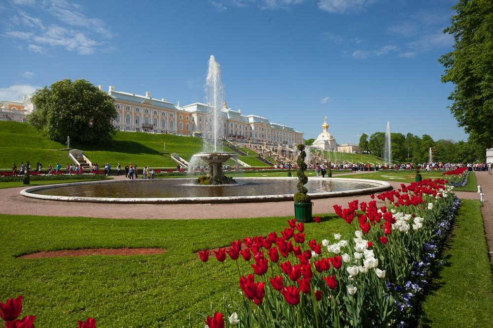 Фонтаны Петергофа. Фото: peterhofmuseum.ru
