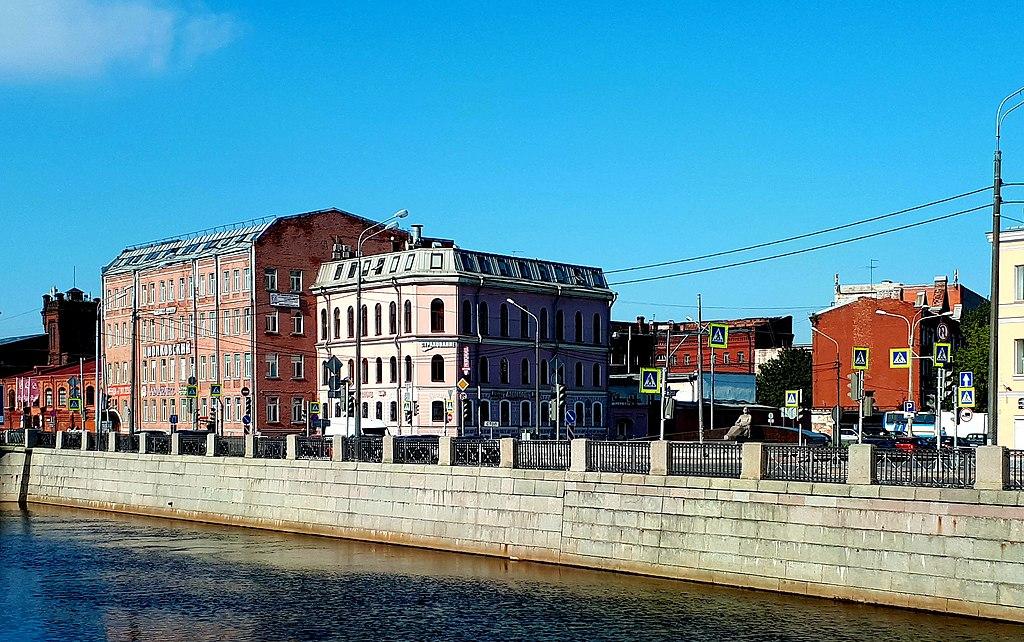 Обводной канал. Фото: GAlexandrova (Wikimedia Commons)