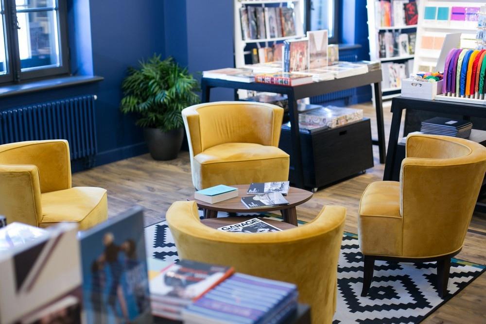 Новая Голландия. Garage Bookshop