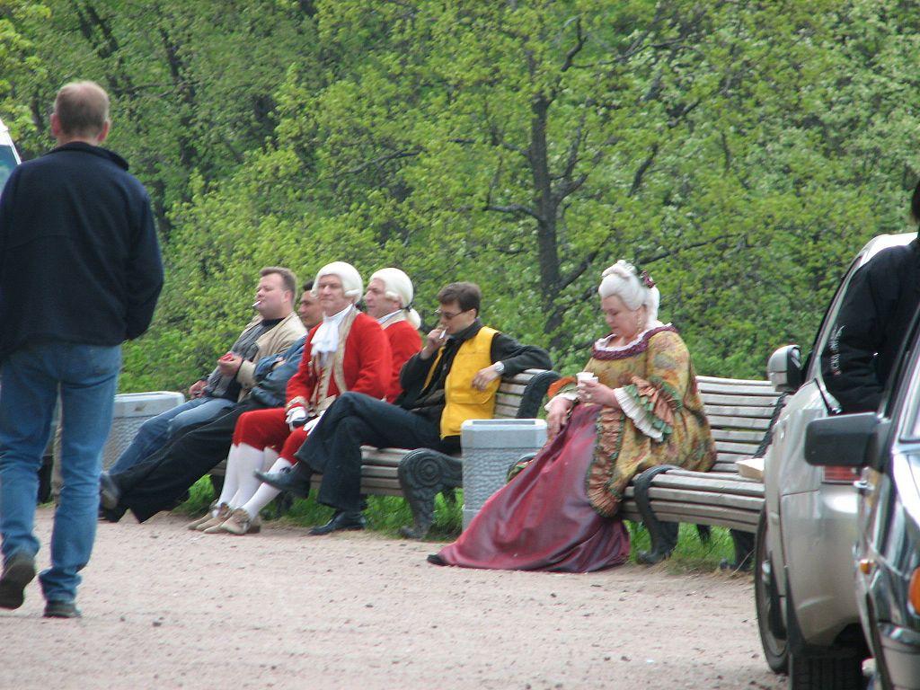Съёмки фильма около Гатчинского дворца, май 2006 г. Фото: Артём Топчий (Wikimedia Commons)
