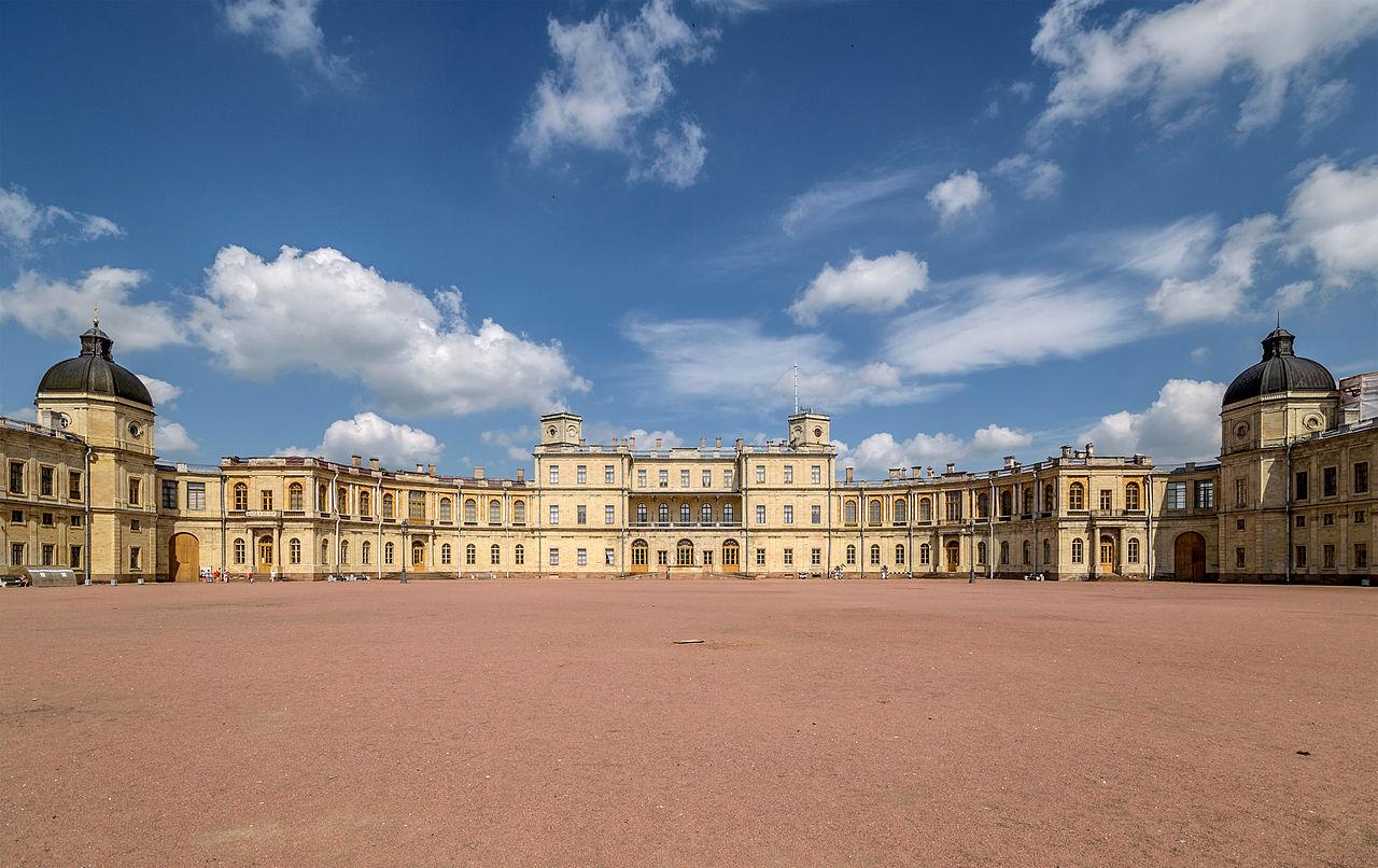 Большой Гатчинский дворец. Автор фото: Florstein (WikiPhotoSpace)