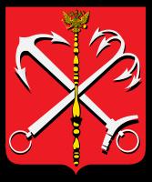 Герб Санкт-Петербурга с 1730 по 1856 г. (Wikimedia Commons)