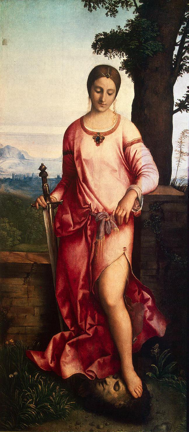 Джорджоне Юдифь. (Wikimedia Commons)