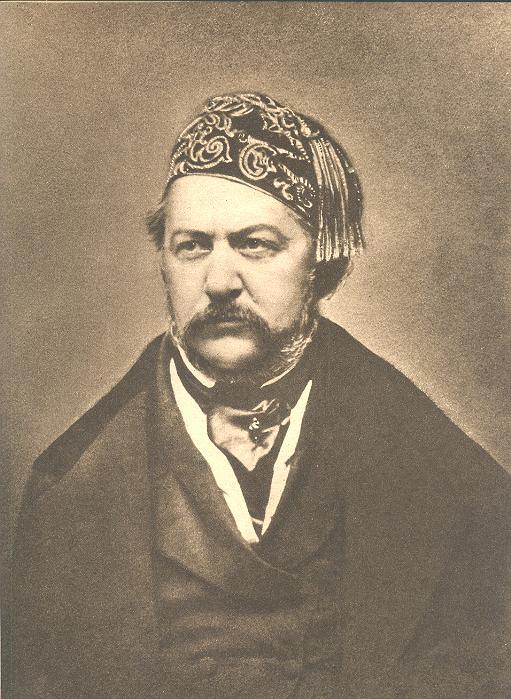 Портрет М. Глинки, 1850-е гг.  Источник: Wikimedia Commons