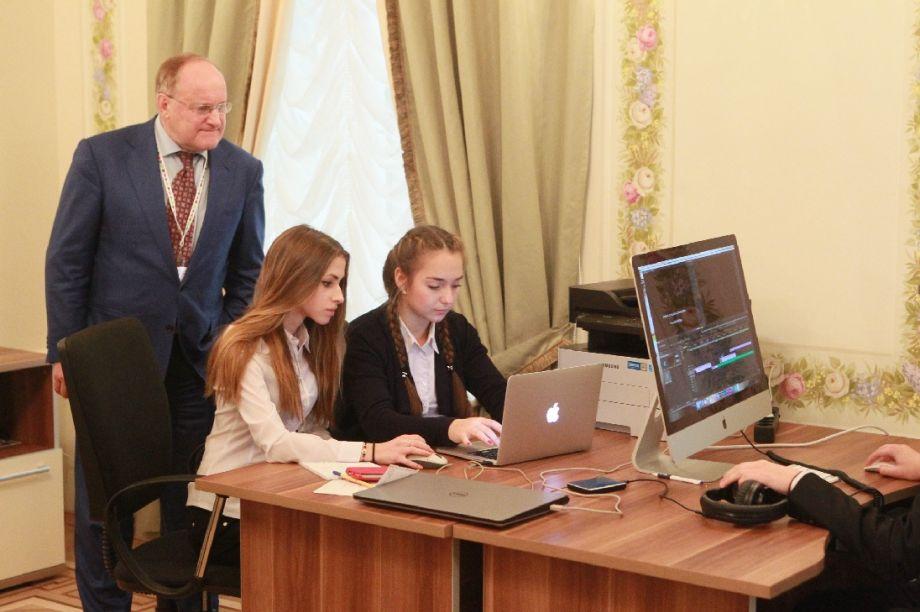 Академия талантов в Каменноостровском дворце, источник фото: интернет-портал wordyou.ru.