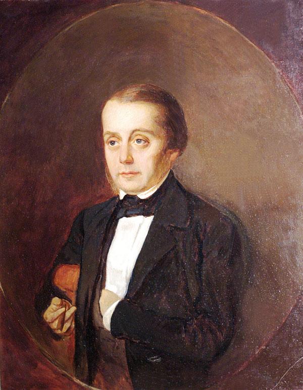 Портрет И. А. Гончарова кисти К. А. Горбунова (Wikimedia Commons)