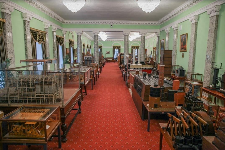 Горный музей Санкт-Петербургского Горного университета. Фото: vk.com/miningmuseumspb