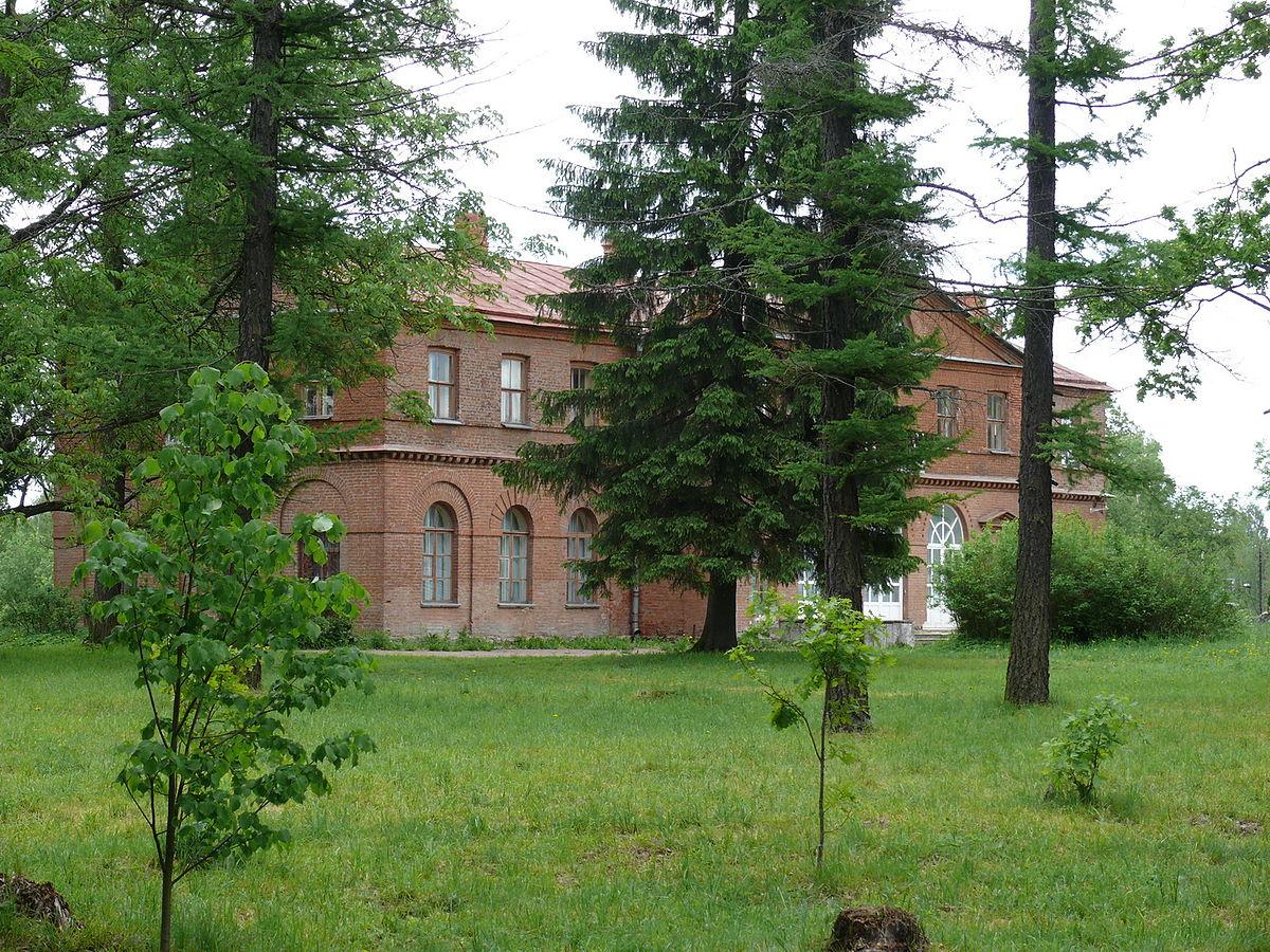 Господский дом усадьбы Приютино. Автор фото: Владимир Синьков (Wikimedia Commons)
