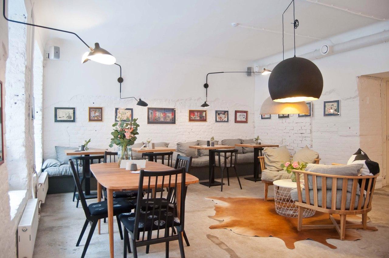 Кофейня на Гороховой, 46 Grán. Автор фото: Дарья Панкратова