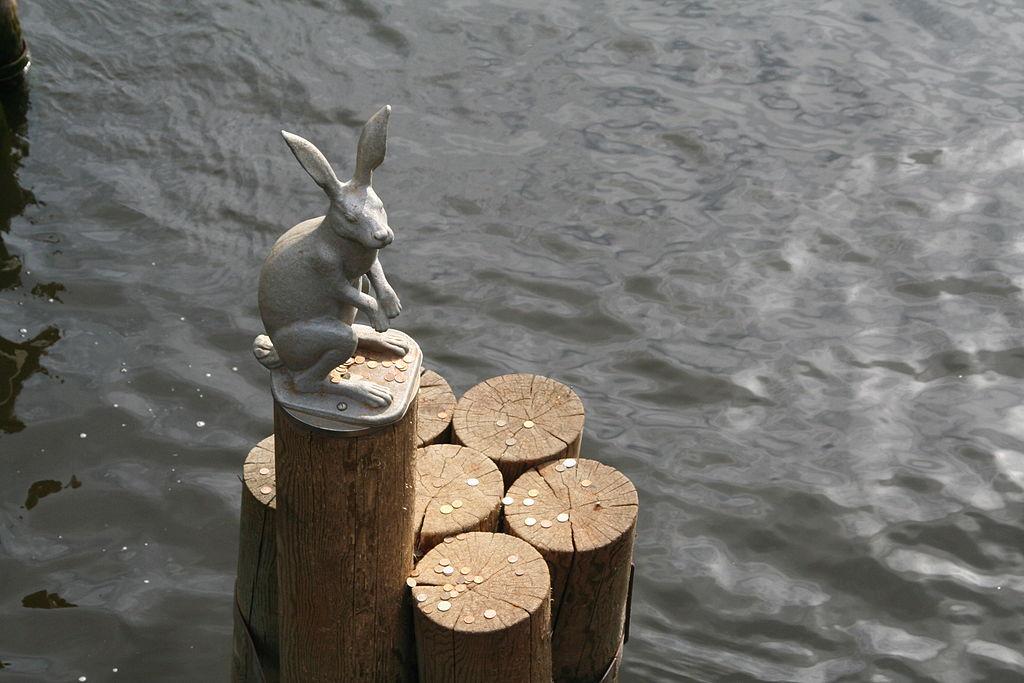 Памятник Зайцу. Фото: Interfase