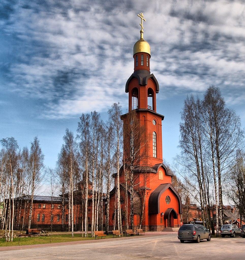 Храм-колокольня Святого Благоверного великого князя Игоря Черниговского. Фото: Andrew Zorin