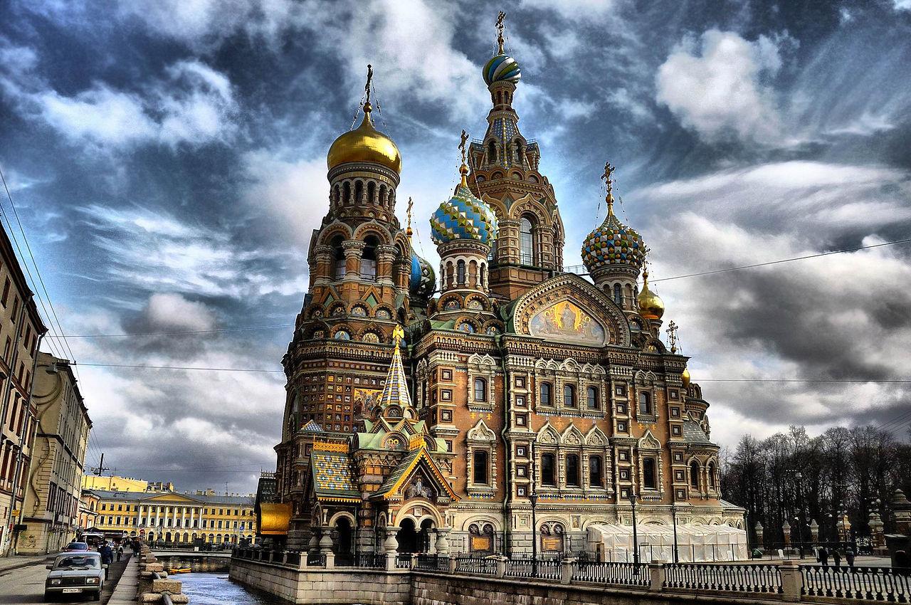 Храм Спаса на крови. Автор фото: NoPlayerUfa (Wikimedia Commons)