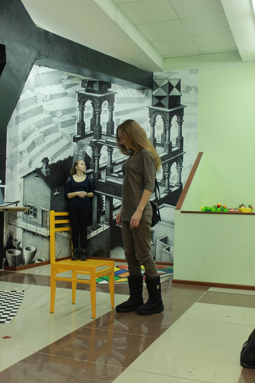 Музей иллюзий. Автор Арина Лухакодер