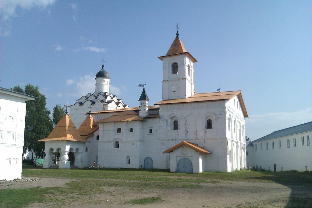 Свято-Троицкий Александра Свирского мужской монастырь. Фото: TpaBakyP (Wikimedia Commons)