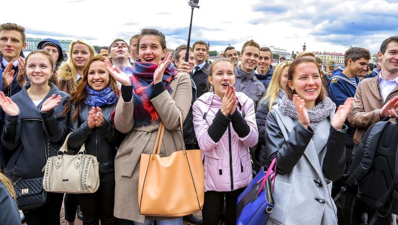 Студенты Санкт-Петербурга. Фото: fadm.gov.ru