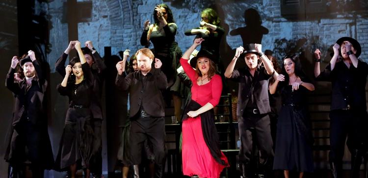 опера «Сельская честь», источник фото: spbopera.ru