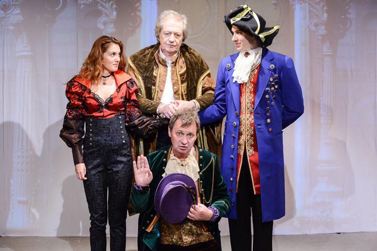Спектакль «Завещание целомудренного бабника», источник фото: http://komedianty.com/