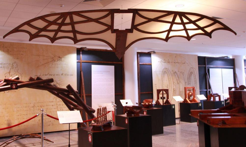 экспозиция «Тайны Леонардо да Винчи», источник фото: http://kudago.com/
