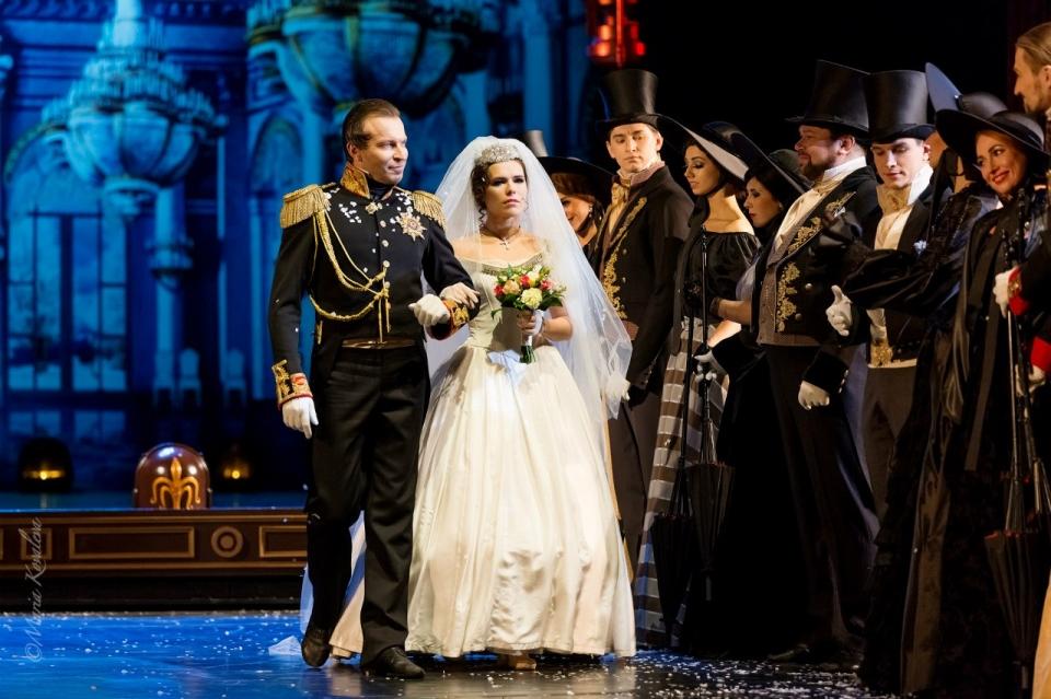 Мюзикл «Онегин», источник фото: musichallspb.ru