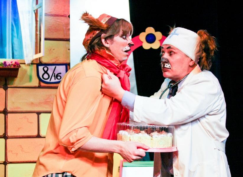 Спектакль «День рождения Кота Леопольда», источник фото: teatr-pp.ru