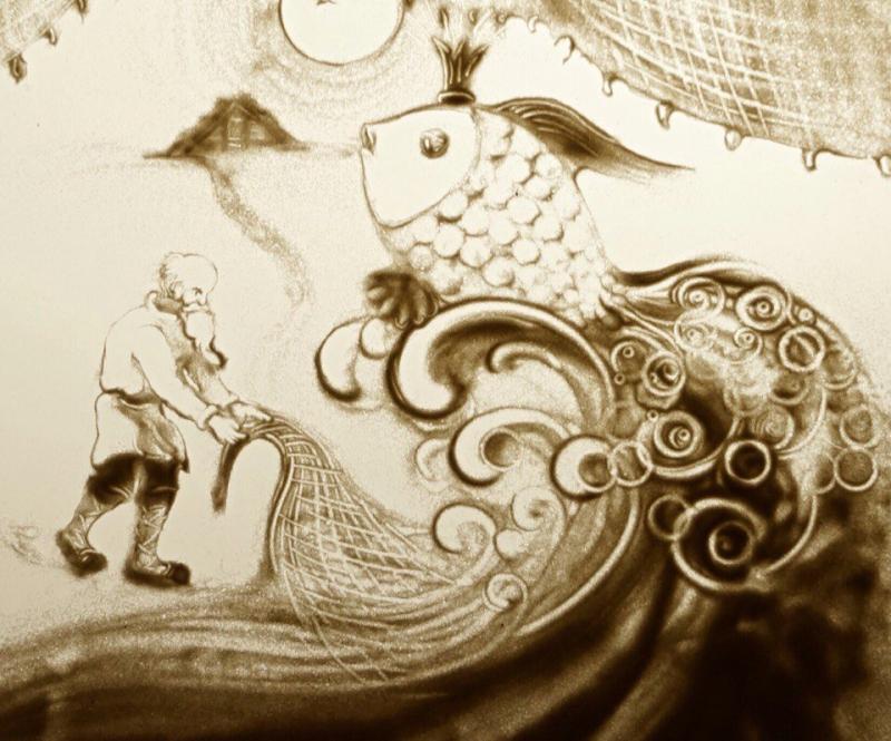 Сказка о рыбаке и рыбке, источник фото: filspb.ru