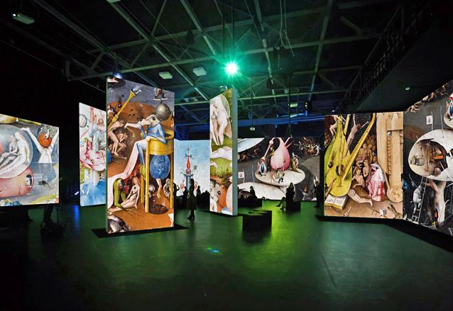 выставка работ Босха, источник фото: snob.ru
