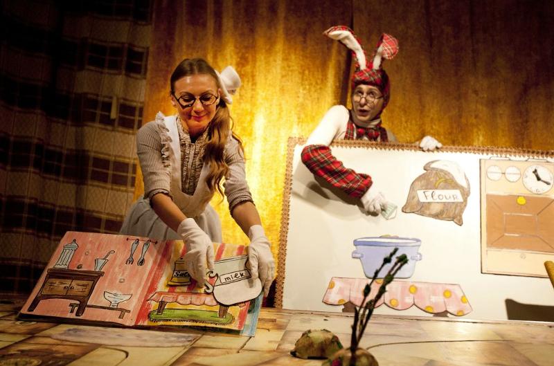 Детский спектакль «Вероятно, чаепитие состоится», источник фото: newsdale.ru
