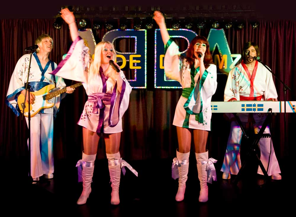 Abba Tribute Band, источник фото: http://21entertainment.co.uk/acts/swede-dreamz.html