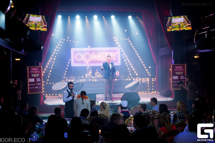 Comedy Club Saint-Petersburg, источник фото: http://geometria.org.ua/miami/events