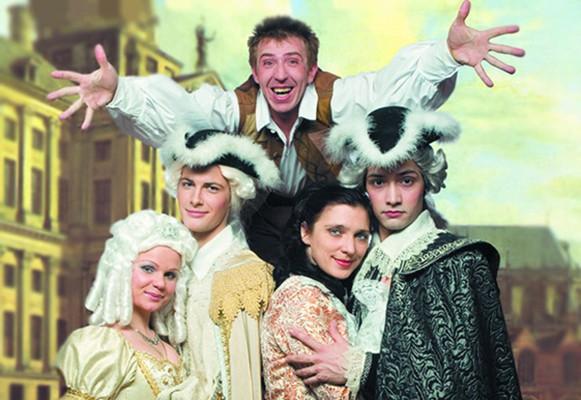 Мюзикл «Труффальдино из Бергамо» источник фото: культура.рф