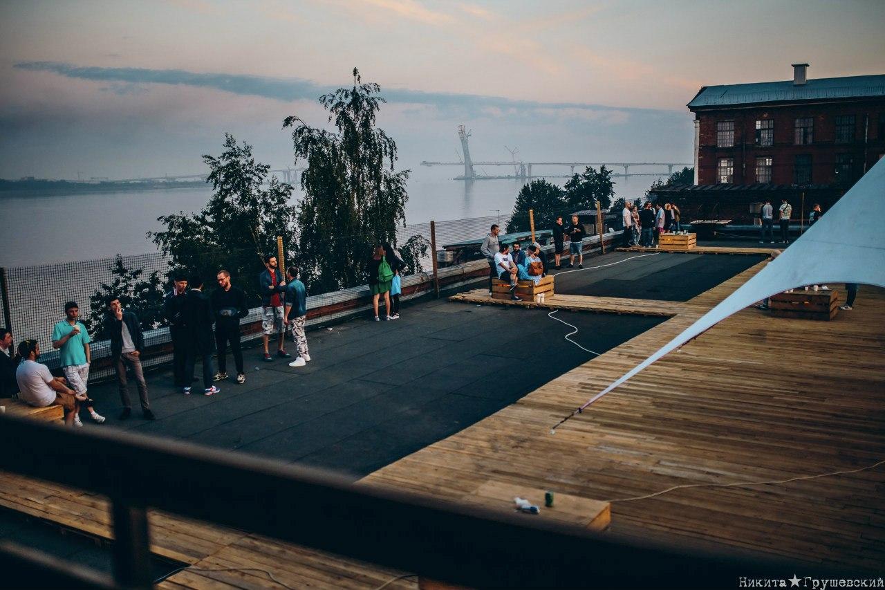 Крыша DOT. Пост-Фест, источник фото: https://vk.com/postfest2016 Автор: Никита Грушевский