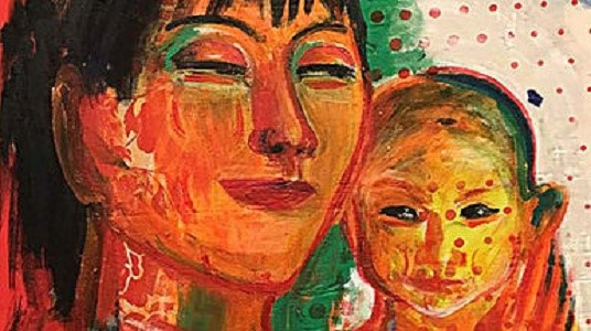 Елена Акулович. Вьетнам  живопись, источник фото: https://vk.com/club125262971