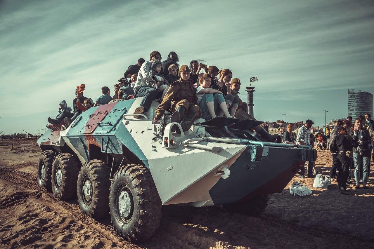 БОЕВАЯ СТАЛЬ - танковый фестиваль, источник фото: vk.com, фотограф: Виктор Седов