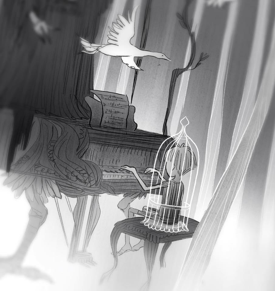 Выставка «Жили-были…» или «Once Upon a Time», источник фото: https://vk.com/boreyartcentr