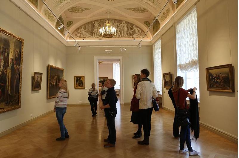 День открытых дверей в Русском музее, источник фото: http://www.rusmuseum.ru/