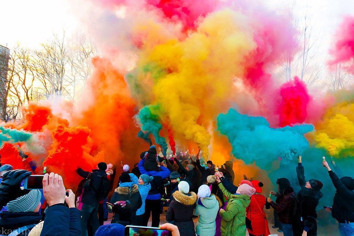 Фестиваль Цветного дыма 2017, источник фото: https://vk.com/soapfestival