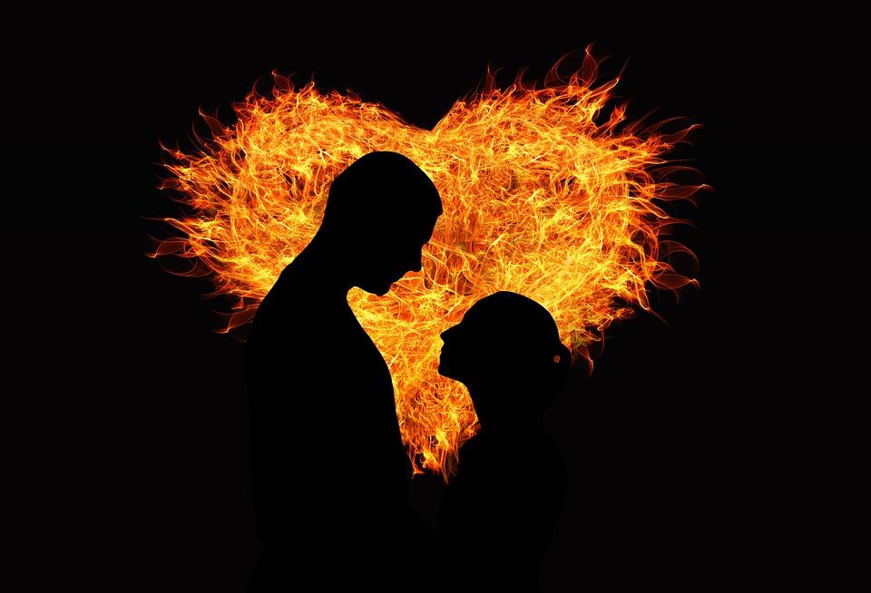 Сердце Любовь, источник фото: https://pixabay.com/ru/сердце-любовь-пламени-любовники-1137259/