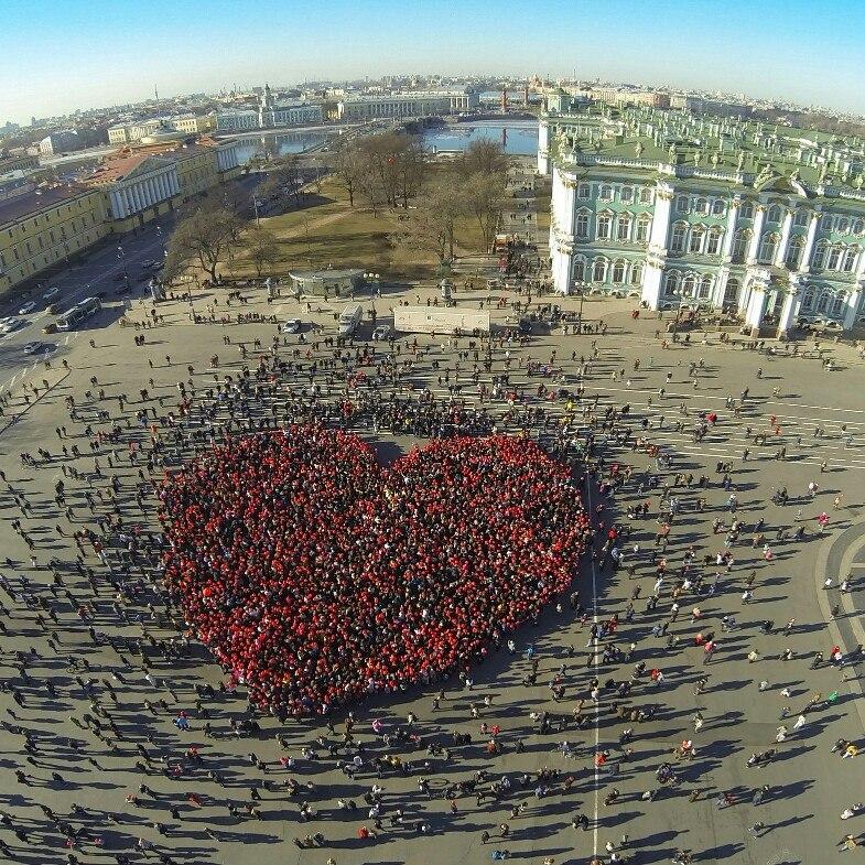 Сердце Города 2017 Санкт - Петербург, источник фото: https://vk.com/city_heart_spb Автор: Настя Сизёнова