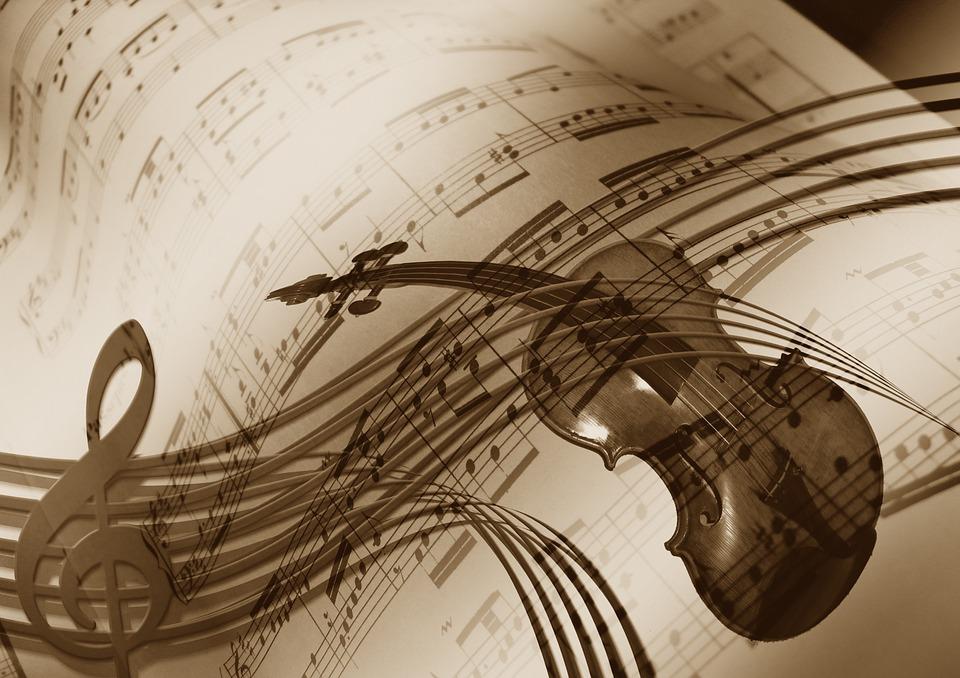 Скрипка, источник фото: pixabay.com