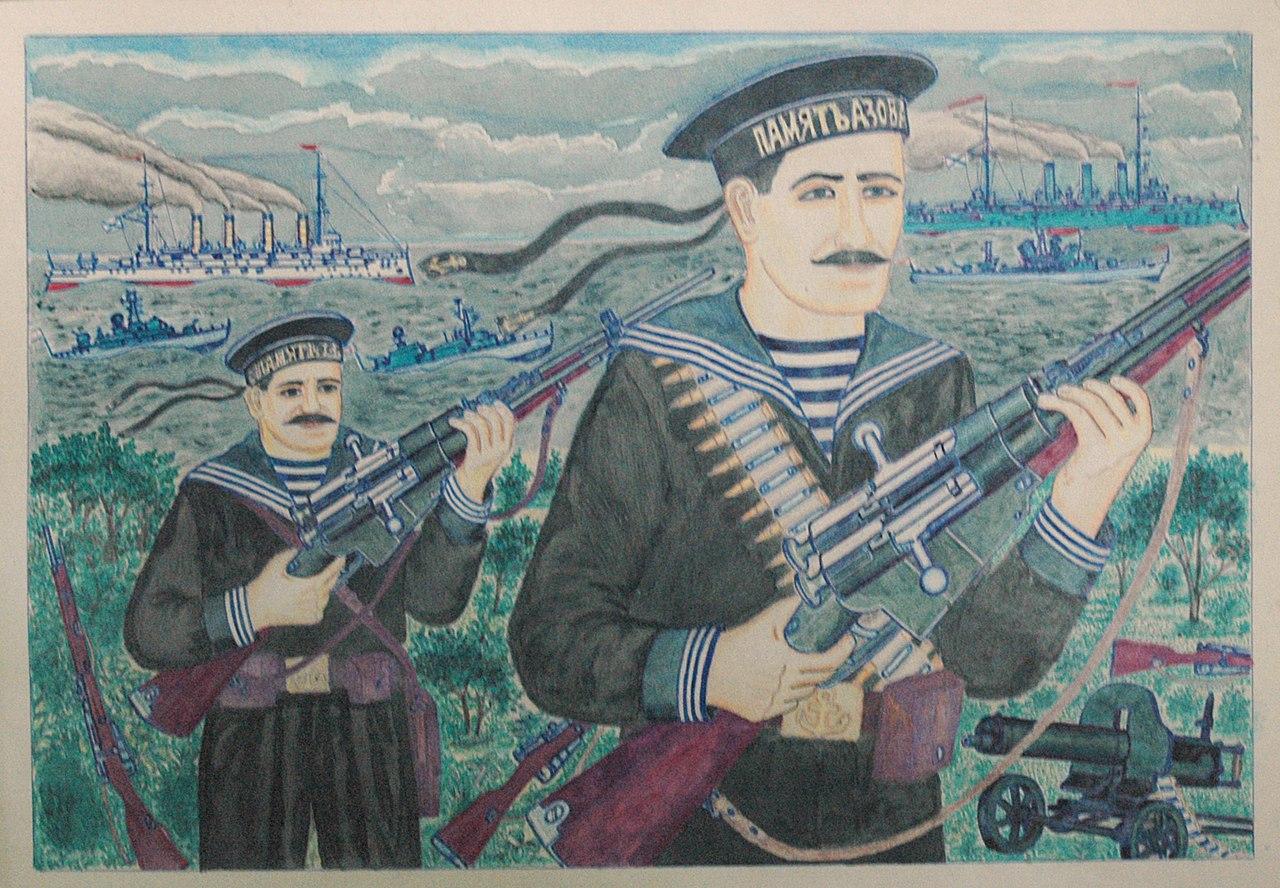 """Выставка Александра Лобанова """"Человек с ружьем"""", фото из ВК"""
