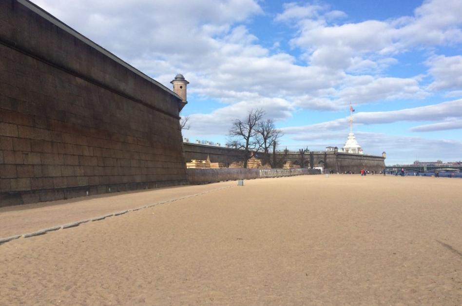 Пляж Петропавловской крепости, источник фото: tripadvisor.ru Автор: Chris S