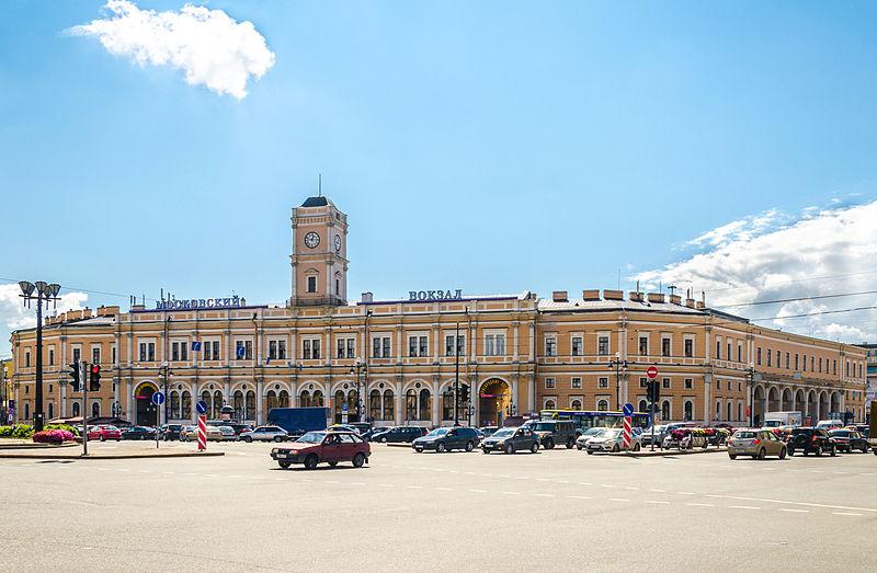 Московский вокзал в Санкт-Петербурге. Автор фото: Florstein (WikiPhotoSpace)