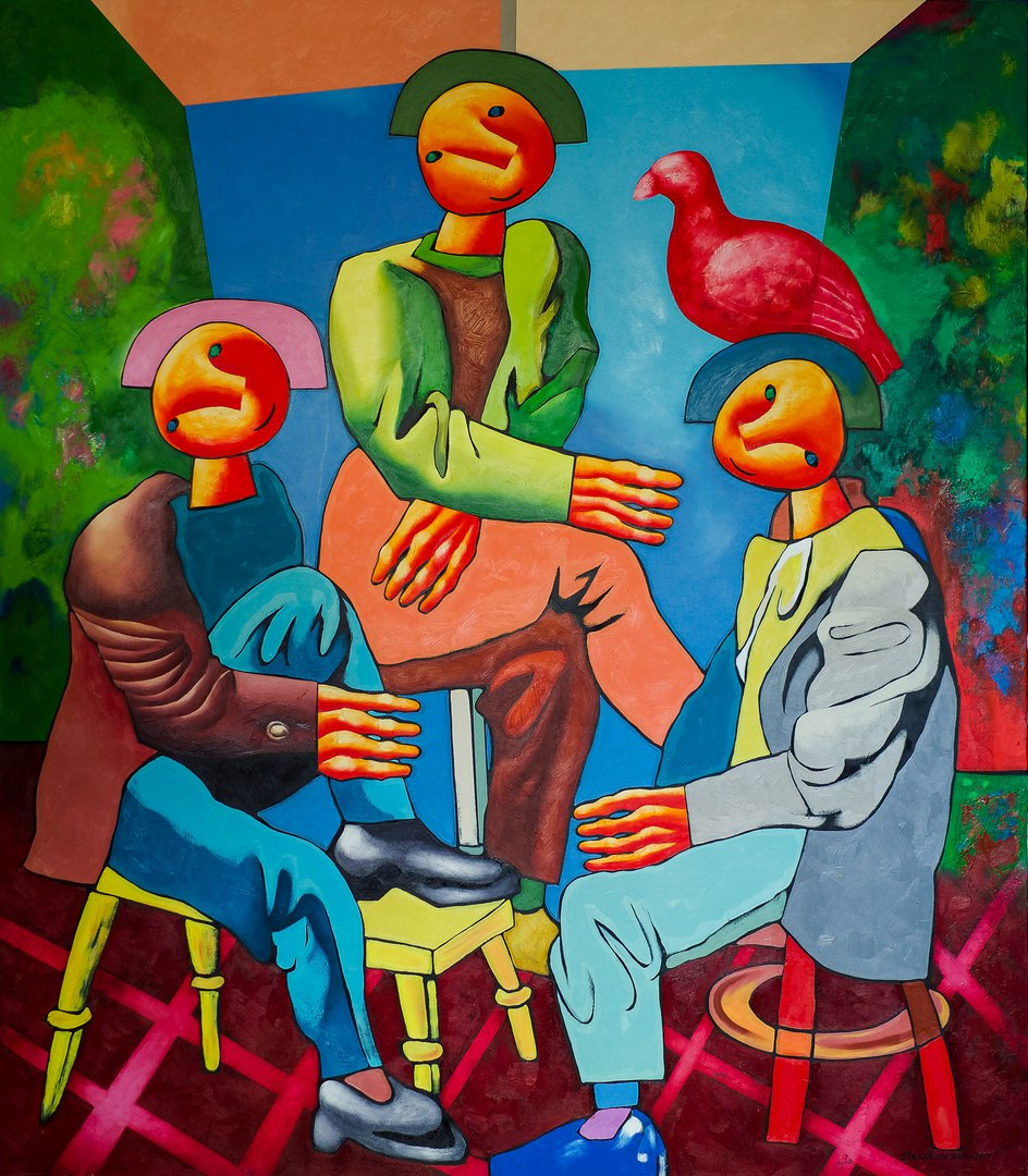 Выставка Дмитрия Стрижова