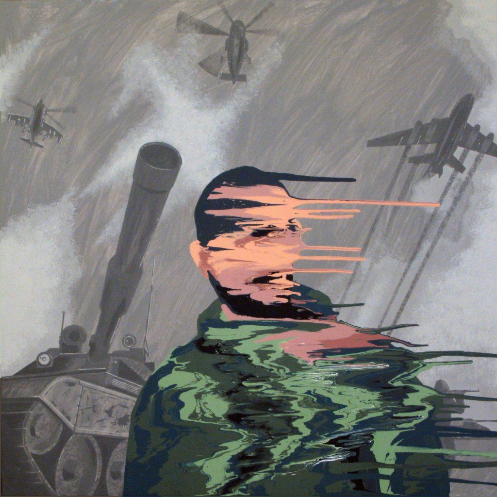 """Выставка  """"Право на грядущее"""". Картина Ивана Плюща"""