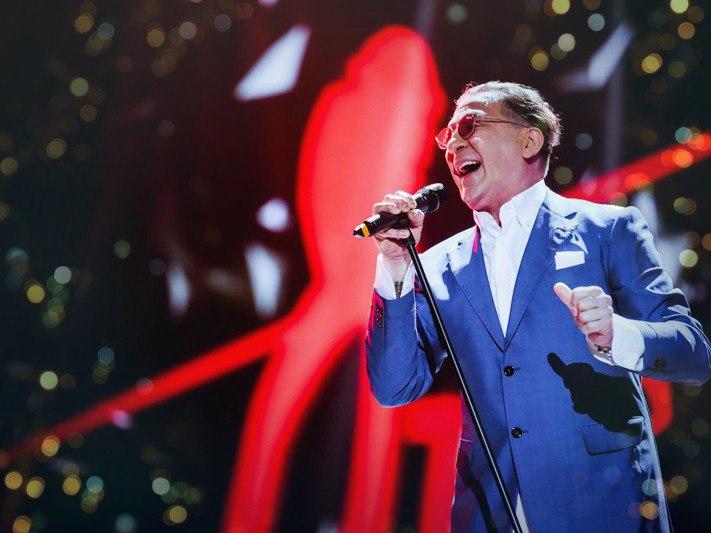 Большой юбилейный концерт Григория Лепса в Санкт-Петербурге