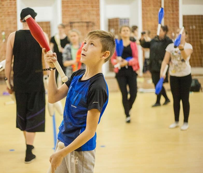 Российская жонглёрская конвенция в Санкт-Петербурге