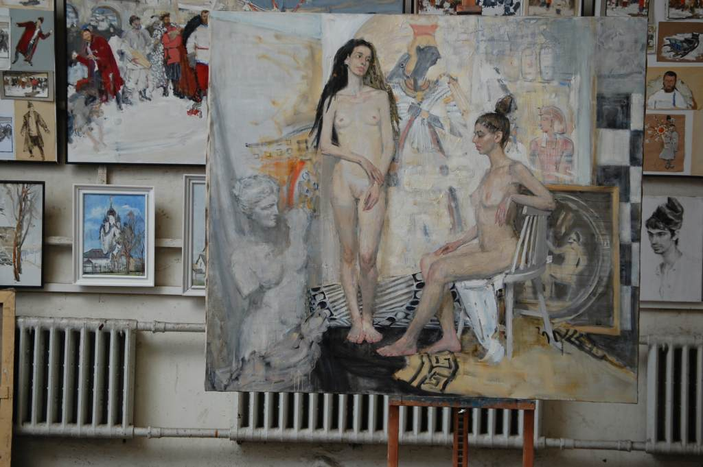 """Выставка живописи и графики Андрея Ерофеева """"Две Венеции"""""""