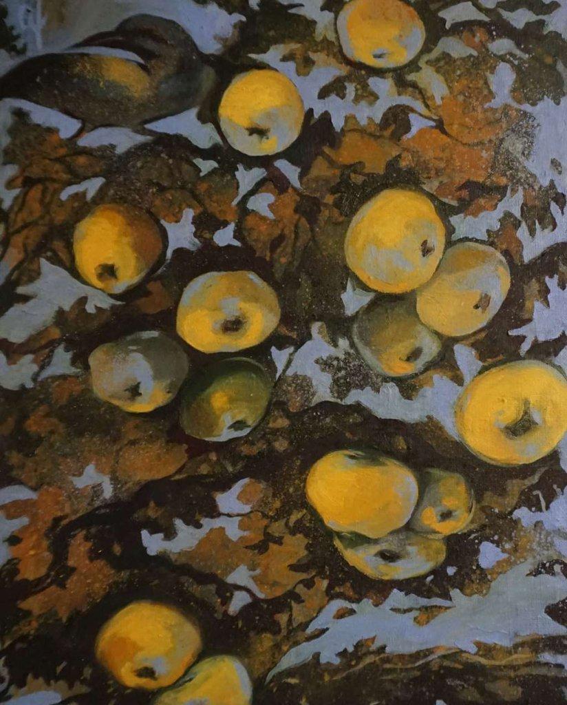 """Выставка графики, живописи, коллажа и гобелена Оксаны Шуйабовой """"Градации"""""""